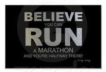 Marathon & Half Marathon / The name Marathon comes from the legend of Pheidippides, a Greek messenger. The legend states that he was sent from the battlefield of Marathon to Athens to announce that the Persians had been defeated in the Battle of Marathon / by Molly Blackburn