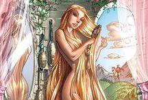 DisneyDisneyDisney : Princess : Rapunzel / by Kim Derryberry