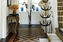 Floors to Love / Your floors are one of the largest surfaces in your home - add some whimsey with fun floor accents.
