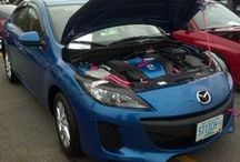 For the Love of Cars / Member of New England Xtreme Tuners, we are family, and we are passionate about our beautiful hunks of metal. Me, I have a 2012 Mazda 3. Enjoy! / by Kim Derryberry