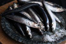 Fish/Pescado / Fotografía gastronómica, pescado e ingredientes del mar.