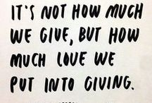 """Gift Giving / """"The manner of giving is worth more than the gift"""" / by Molly Blackburn"""