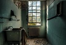 "Abandoned Places & Things IV / ""Faded beauty, artful neglect and stylish dilapidation""   ~author unknown  / by Beth Mills Foster"