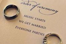 Wedding Stuff / by MK Tyler