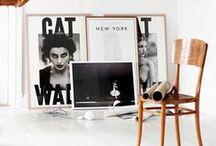 Ideas con fotos / Ideas para decorar ambientes y espacios con fotografías montadas de distintas formas.