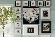 Paredes de fotos / Diseños de montajes en paredes hechos con fotografías.