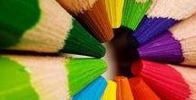 Colori / / True colours are beautiful, like a rainbow...