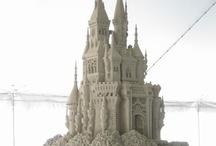 Sand Castels - Sculptures
