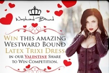 Facebook Competitions - Westward Bound Latex Clothing / Check out our latest Facebook competitions from Westwards Bound! / by Westward Bound