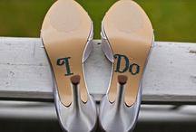 Wedding Attire For Bride & Groom / by Mandy Nenstiel