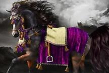 Horses and Fantastic Accessories