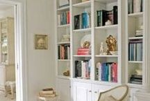 Bookcases and Shelves / by Katherine Nabors