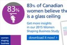 Women Shaping Business / There are countless examples of women who have had an impact, but there is still progress to be made in having them fairly represented in the business world. By sharing their stories, we further contribute to inspire young women to aim for leadership positions and make an impact.  / by Randstad Canada