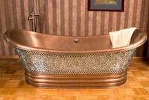 metallic home / Home decor and accessories such as furniture that are metallic or painted with metallic paints.