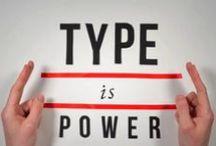 Typography / Alcune esempi di ottimi font e belli esempi di stampe tipografiche. #typography