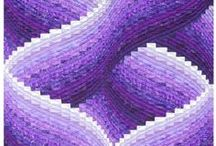 bargello quilts / by Donna Rowe