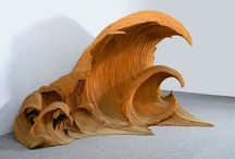 Hand cut, shaped, molded and carved / Sculpture / by Jamie Skodack