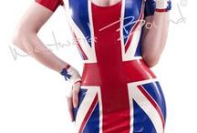 Latex Uniforms by Westward Bound / Westward Bound Latex is 100% Designed and Handmade in England. / by Westward Bound
