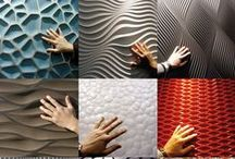 The Urban Walls / interior walls and ceiling cover. modern design . ceiling tiles,wall tiles, new materials