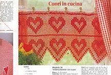Crochet bordure