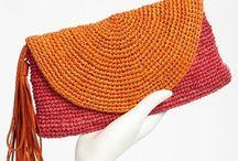 Crochet borse borsellini