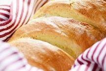 Bread Recipes / Soft, fluffy, crusty, freshly baked bread!