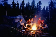 Camping ~ Our favorite summer activity! / We LOVE to camp! Usually in a tent, but in a cabin in the cooler weather, since we have K. We always have a great time. :) / by Linda Asbury