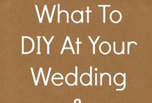 Wedding / Articles with tips on saving money for your wedding / by Bailey Marie & Me