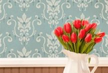 Damask Stencils / by Wall to Wall Stencils