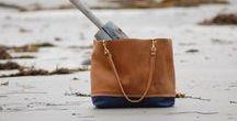 Maine Bags & Goods Totes / Handmade, Hand Painted, Maine Made and Artist Signed.  All Original Artwork