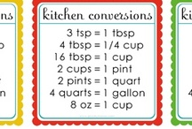 Recipes: Conversions / by Laura Lanning Shipton