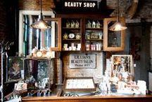- Old Shops | Interiors - / by Sari | Muistojen polulla |