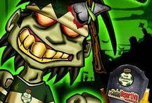 Zombie Soccers / Los equipos de la Liga MX hechos Zombies / by Cesar Orona