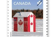Canadian Stamps / by Dosi Dosi Dosifey