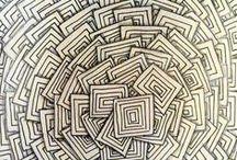 Zentangle / Zentangle designs