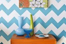 Allover Wall Stencils  / Stencils that create a wallpaper effect with paint / by Wall to Wall Stencils, Inc.