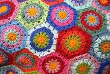 the crocheting
