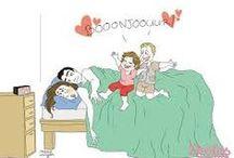 Viiiite, une grasse matinée!!!!! / Si pour vous une grasse matinée est une nuit de 6 heures ... C'est que vous être vraiment un parent épuisé ... #parentépuisé