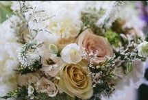 Olivia + Sean / COLOR + STYLE: Peach, blush, ivory, and navy; whistful and vintage.