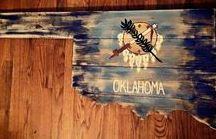 Okla-Home-A / My state, my people and the red dirt that I call home.