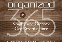 Storage/Organization / Let's get organized