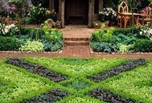 GARDEN: DESIGN / Life is given to you like a flat piece of land and everything has to be done. I hope that when I am finished, my piece of land will be a beautiful garden, so there is a lot of work.~~Jeanne Moreau