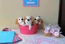 Allison Puppy Party Birthday Ideas / by Becky Stultz