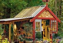 GARDEN: SHEDS / Everything stylish that you want in a garden shed.