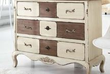 Painted Furniture / Transformations of painted furniture pieces...wow!