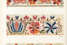 Embroideries and needlework