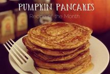 Holidays / Inspiration to create something with a little bit of extra magic for the holidays. Like pumpkin pancakes for Halloween or snowmen pancakes for Christmas