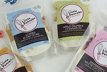 Pancake mixes / We've got our own delicious range of pancake mixes available to buy from www.thelittlepancakecompany.com. Choose from Rocky Road, Raspberry & White Chocolate, Zingy Ginger...