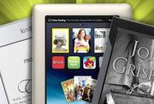 eReader Open House / Have an eReader?   Thinking of giving or getting one?  Here are some links to help you decide how and what to buy, as well as some helpful links for some things you might need or want.