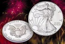 American Silver Eagle Coins / Littleton Coin silver eagle collection